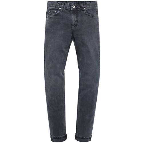 M#0707 indigo retro washed jeans