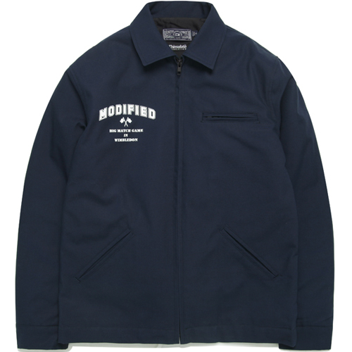 M#0825 modified work jacket (navy)
