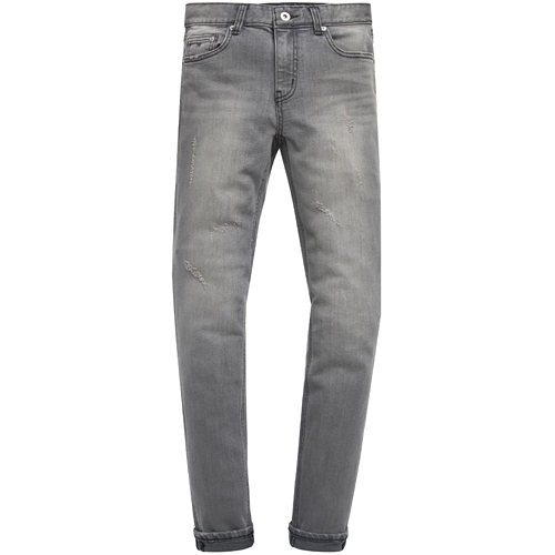 M#0719 grey washed jeans