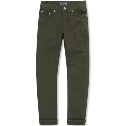 M#0881 5pocket cotton pants (khahi)