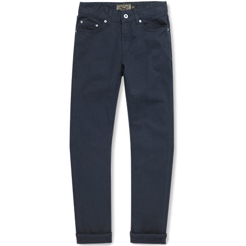 M#0879 5pocket cotton pants (navy)