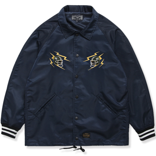 M#0893 modified coach jacket (navy)