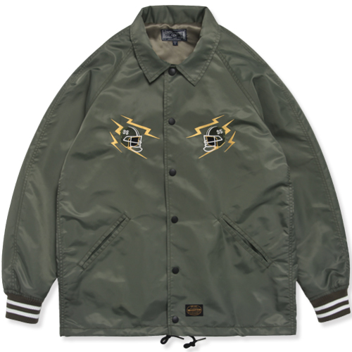 M#0894 modified coach jacket (olive)