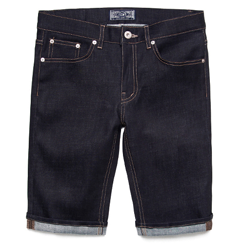 M#0335 1/2 dark indigo rigid denim