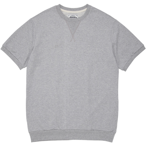 M#0977 summer basic crewneck (grey)
