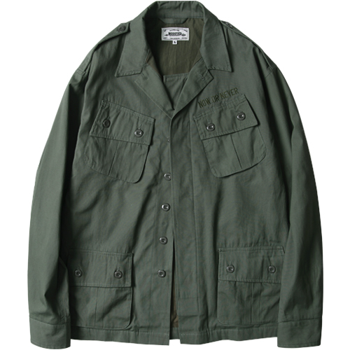 M#1030 jungle fatigue jacket (khaki)