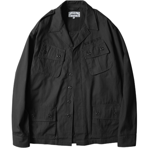 M#1031 jungle fatigue jacket (black)