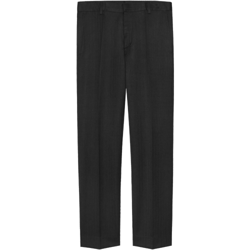M#1066 slim tapered fit slacks (black)