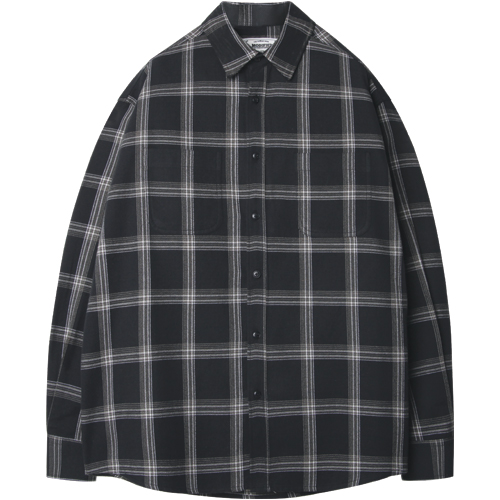 M#1249 plaid check shirt