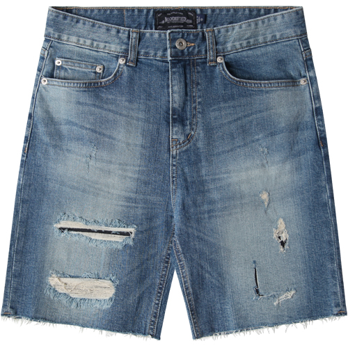 M#1280 1/2 retro conemills washed shorts