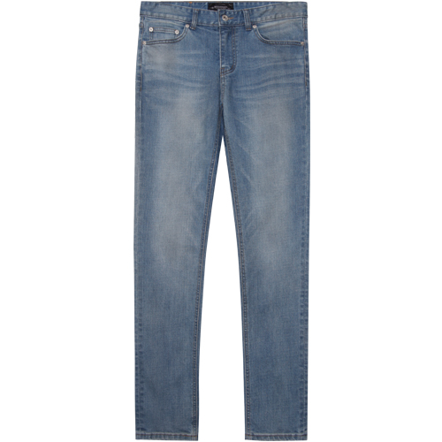 M#1371 dust washed jeans