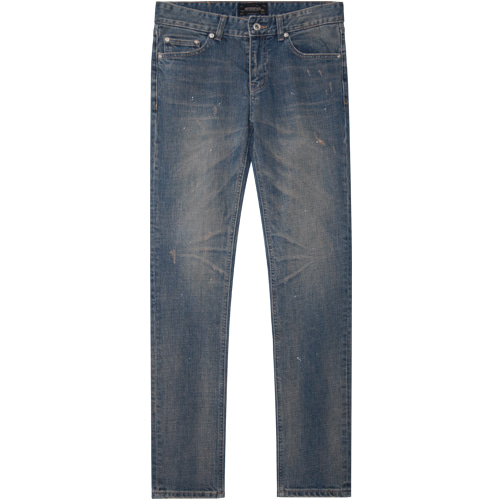 M#1383 oasis blue washed jeans