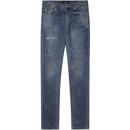 M#1385 blizzard washed jeans