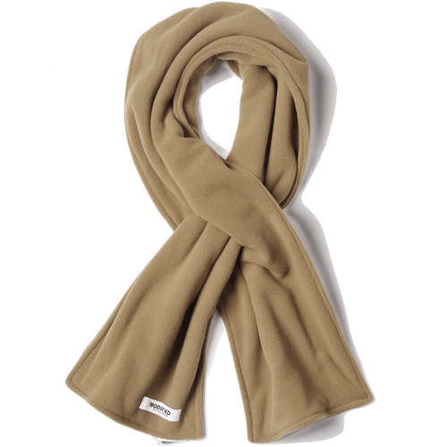 M#1450 heavy fleece hole muffler (beige)