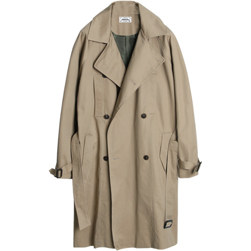 M#1043 modified trench coat (beige)