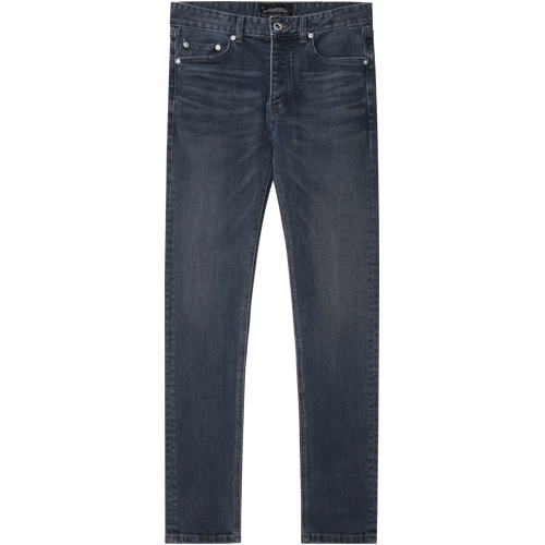 M#1415 fog blue washed jeans