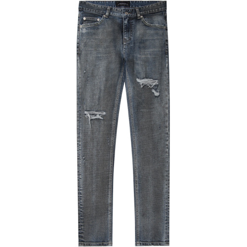 M#1416 masterpiece repaired jeans