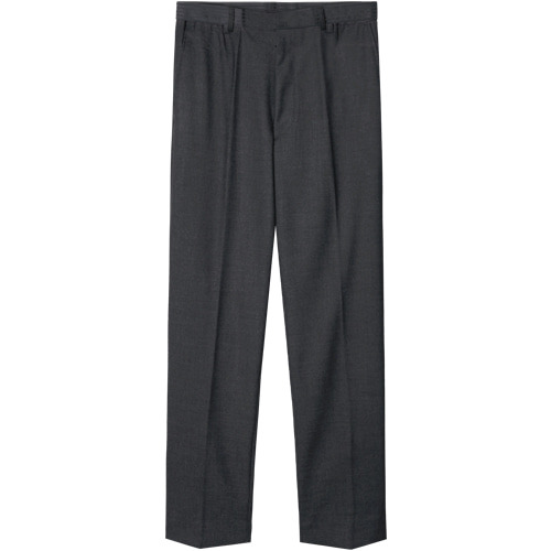 M#1427 minimal slim tapered fit slacks (charcoal)