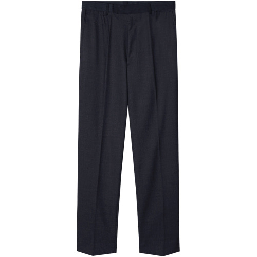 M#1428 minimal slim tapered fit slacks (navy)