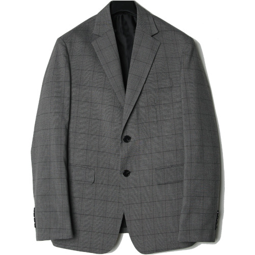 M#1432 glen check single blazer