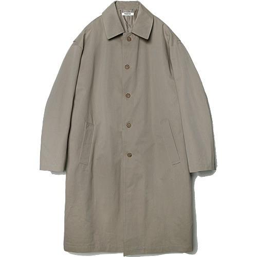 M#1509 over tuck mac coat (beige)