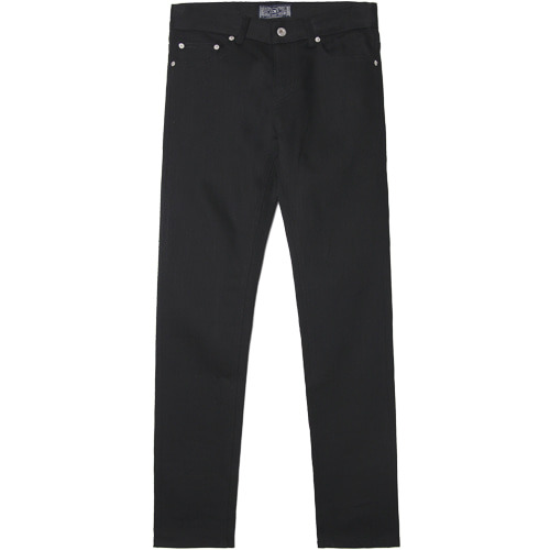 M#1514 black to black slim jeans