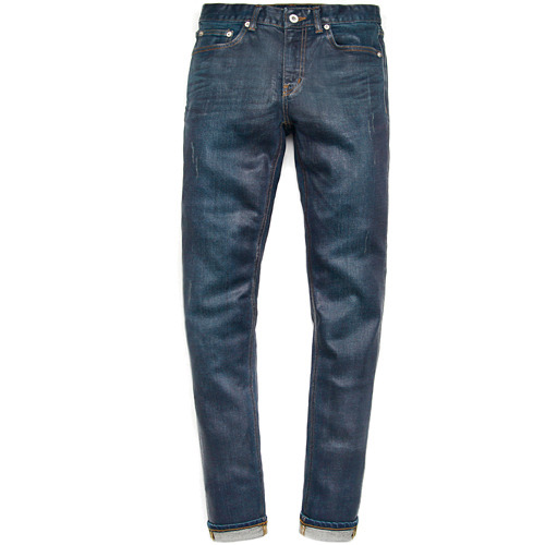 M#0447 wakefield press handmade coating jeans