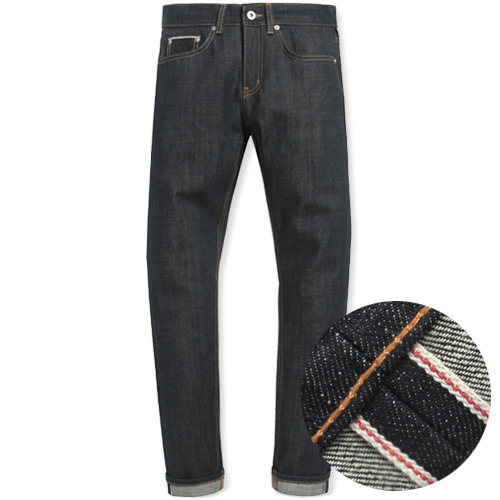 M#0890 modified selvedge denim