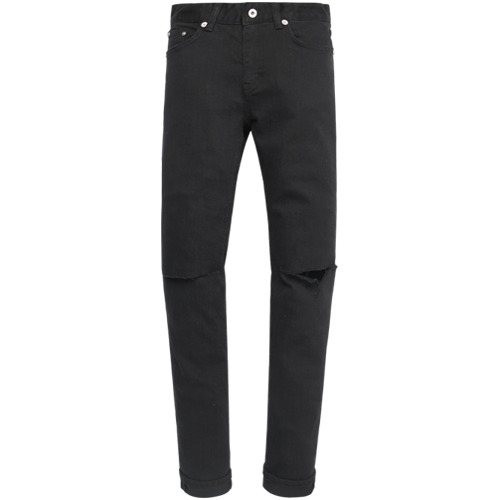 M#0915 cut destoryed stretch jeans