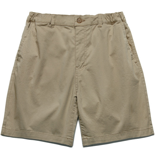 M#1543 stretch banding shorts (beige)