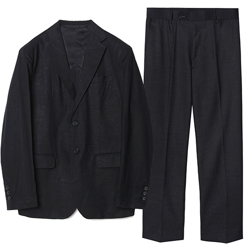 M#1575 set-up suit (black)