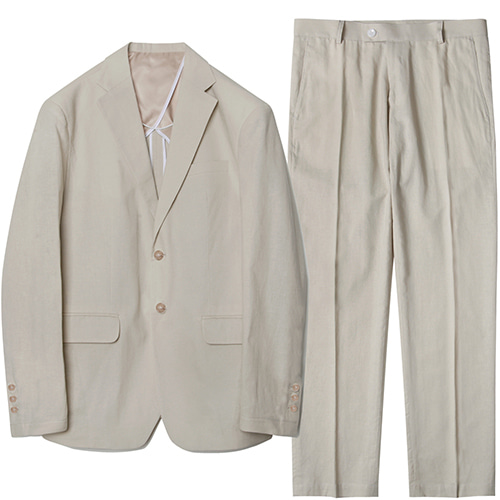 M#1577 set-up suit (ivory)