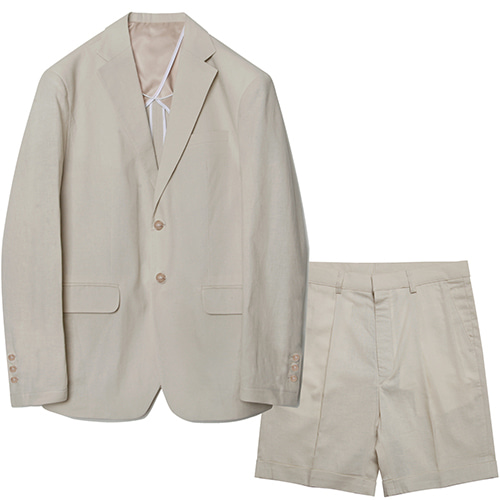 M#1578 set-up suit (ivory)