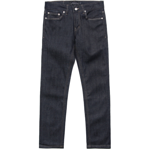 M#1600 stitch rigid crop jeans