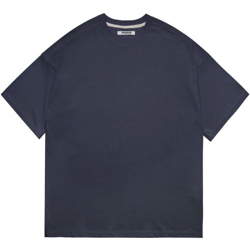 M#1601 premium cotton tee (navy)