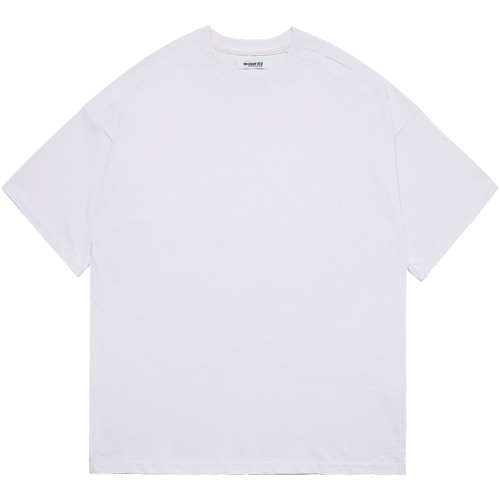 M#1603 premium cotton tee (white)