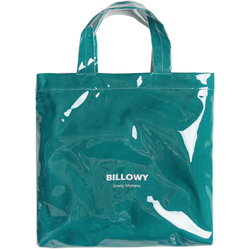 M#1618 pvc canvas bag (mint)