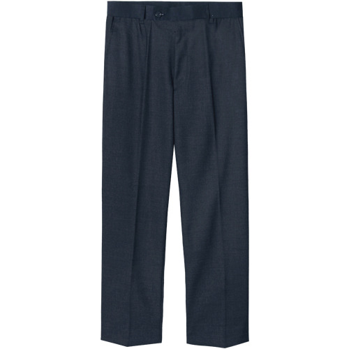 M#1621 linen set-up slacks (navy)