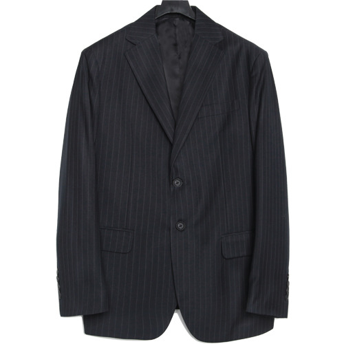 M#1655 fancy stripe set-up blazer (stripe)