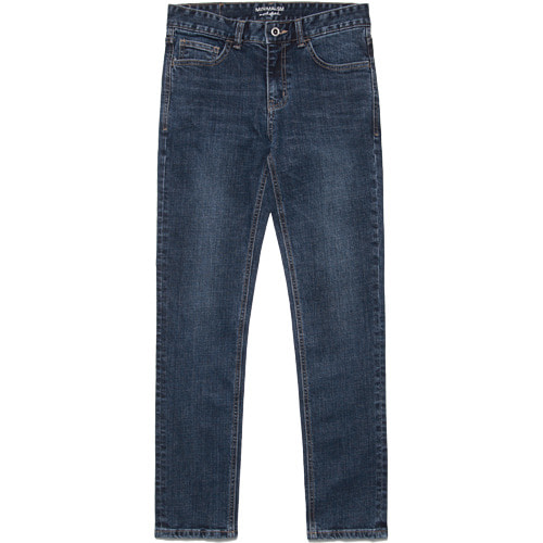 M#1638 most blue slim Jeans