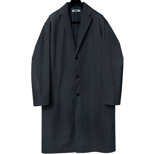 M#1647 over tailored coat (navy)