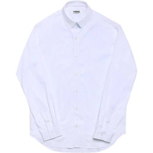 M#1639 white dress shirt