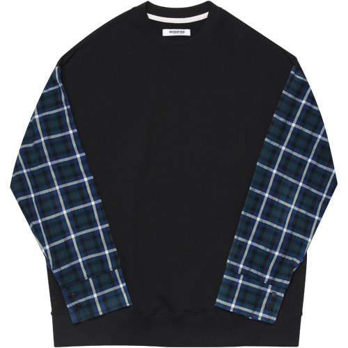 M#1632 sleeve shirt sweat crewneck