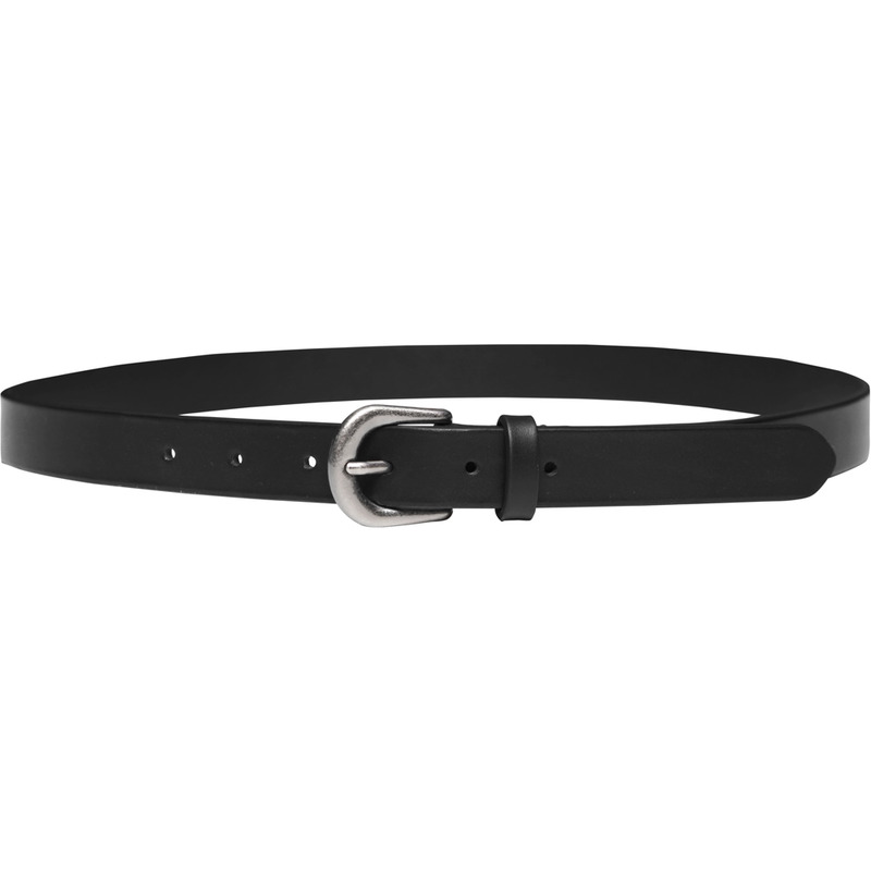 M#1669 parma italy leather belt (black)