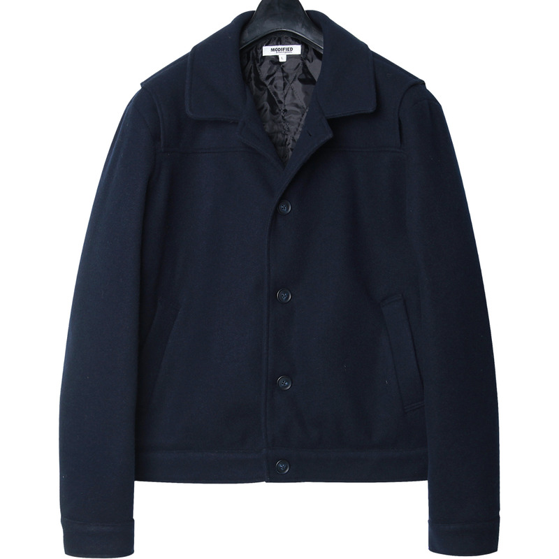 M#1667 wool action jacket