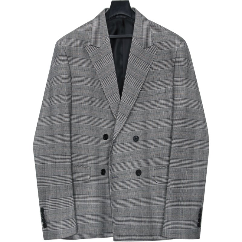 M#1705 spring glen check double blazer (L사이즈만 2월 22일 예약배송)