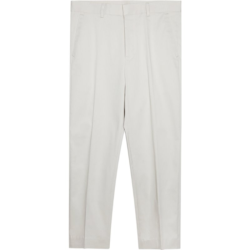 M#1762 standard carrot fit slacks (beige)