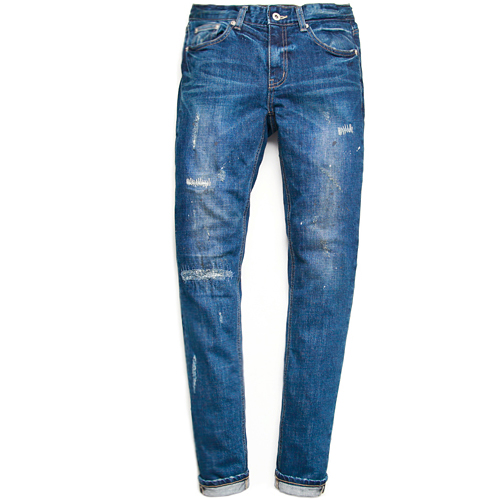 M#0451 st Davids distressed jeans
