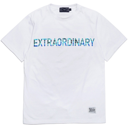 M#0616 extraordinary 1/2 T (white)