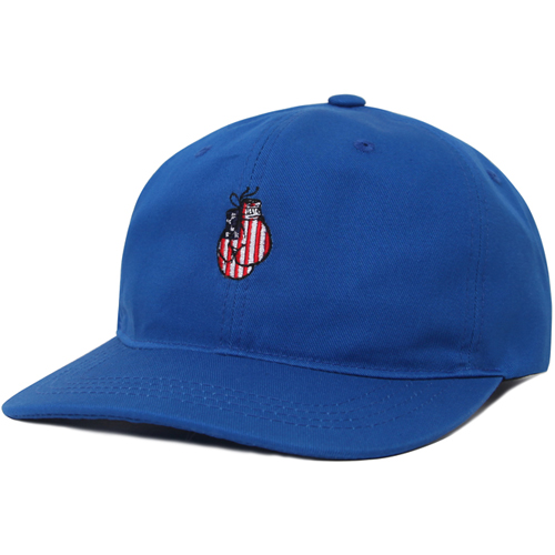 M#0666 modified 6panel cap (blue)